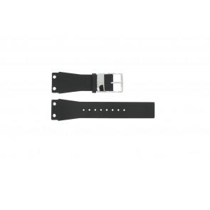 Klockarmband K7547100 / K600060218 Läder/Plastic Svart 25mm