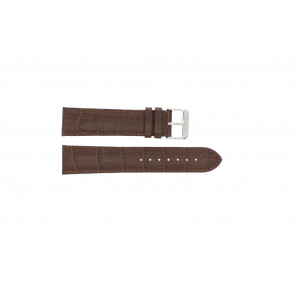 Klockarmband 305.02.12 XL  Läder Brun 12mm + sömmar brun
