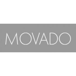 Klockarmband Movado 84.G4.875.3801676 / CAL-18/14-WHI / Loc VIM-81 Läder Gräddvit / Beige / Elfenben 15mm
