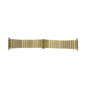 Apple (replacement model) klockarmband LS-AB-107 Stål Guld (Doublé) 42mm