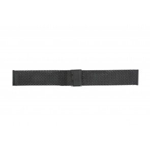 WoW klockarmband MESH24.01 Metall Svart 24mm