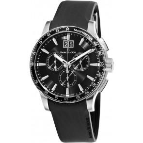 Klockarmband Maurice Lacroix MI1098 / AQ60872 / ML640-000020 Silikon Svart 18mm