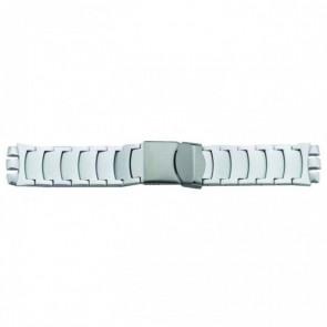 Klockarmband Universell 1079 Aluminium Stål 17mm