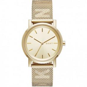 Klockarmband DKNY NY2621 Stål Guldpläterad 18mm