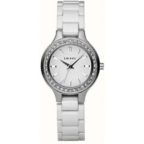 Klockarmband DKNY NY4982 Keramik Vit