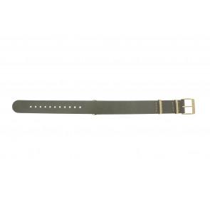 Timex klockarmband PW2P98500 Läder Taupe 18mm + sömmar beige