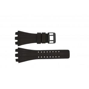 Police klockarmband 12079BR / 12079JSB/05A / 12079JS-02  Läder Mörk brun 36mm