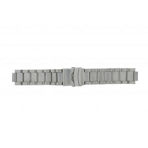 Q&Q klockarmband QQ13ST-ZI-ST Metall Ilverfärgad 13mm
