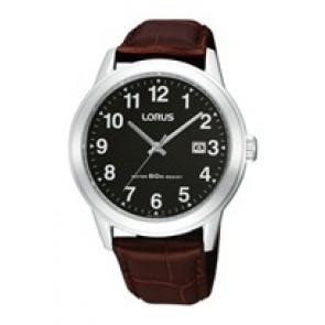 Klockarmband Lorus PC32-X019-RH927BX9 Läder Brun 20mm