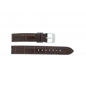 Lorus klockarmband V501 X292 / RRS73UX-9 / V501- X29201A Läder Brun 14mm + default sömmar