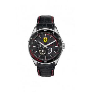 Klockarmband Ferrari SF-11-1-34-0043 / 689300062 Läder Svart