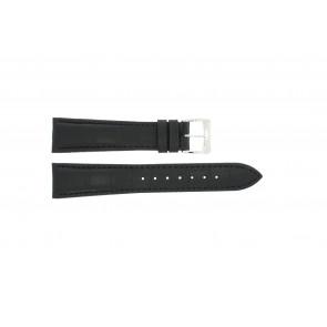 Klockarmband Raymond Weil SI1501-BSB-C-2 Krokodilskinn Svart 15mm