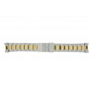 Prisma klockarmband STBI22 Metall Bi-färg 22mm