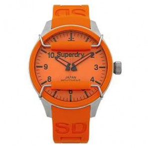 Klockarmband Superdry SYG109OG Silikon Apelsin