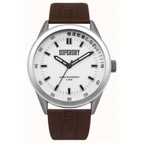 Klockarmband Superdry SYG207TS / 222793 Läder Brun