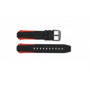 Klockarmband Tissot T1114173744101A / T603040970 Silikon Polykromi