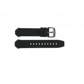 Klockarmband Tissot T1114173744103A / T1114173744107A / T603042129 Silikon Svart 18mm