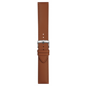 Tissot klockarmband T109.610.16.037.00 Läder Konjak 21mm + default sömmar