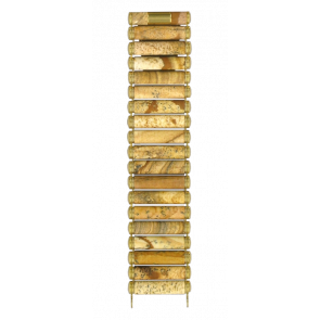 Klockarmband Tissot T608014383 / T608.R151917 Keramik Brun