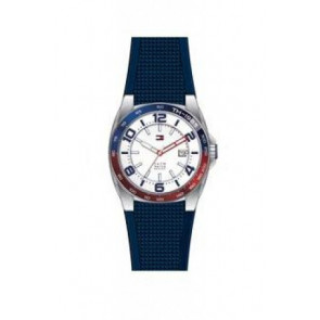 Klockarmband Tommy Hilfiger TH1790885 Gummi Blå 21mm