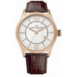 Klockarmband Tommy Hilfiger TH-85-1-34-0816 - TH679301079 Läder Brun 21mm
