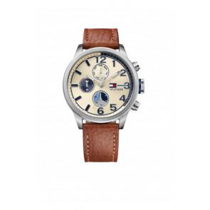Klockarmband Tommy Hilfiger TH-102-1-14-2038 / TH679301952 Läder Konjak 22mm
