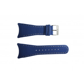Klockarmband Obaku V109 Läder Blå