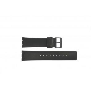 Klockarmband Obaku V137 Läder Svart 23mm