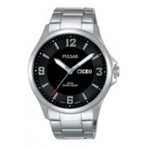 Klockarmband Pulsar VJ33-X024-PJ6079X1 Stål Stål 22mm