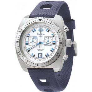 Klockarmband Zodiac ZO2242 Gummi Blå
