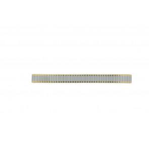Klockarmband Universell Bicolor-14 Haka-Flex Stål Bi-färg 14mm