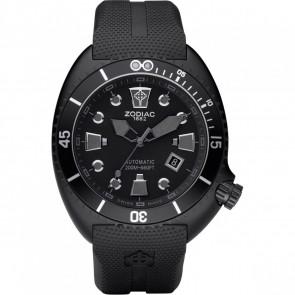 Klockarmband Zodiac ZO8010 Gummi Svart 24mm