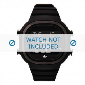 Adidas klockarmband ADH2045 Silikon Svart 24mm