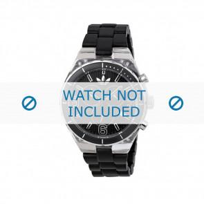Adidas klockarmband ADH2542 Plast Svart 8mm