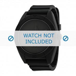Adidas klockarmband ADH2710 Silikon Svart 24mm