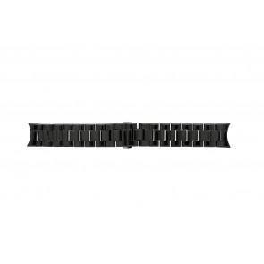 Klockarmband Armani AR1400 / AR1401 Keramik Svart 22mm