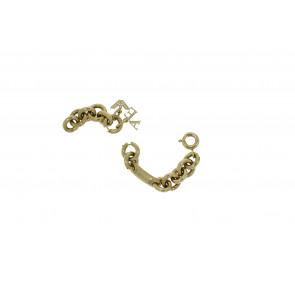 Armani klockarmband AR5716 Stål Guld (Doublé) 4mm
