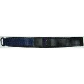 Klockarmband 20mm mörkblått