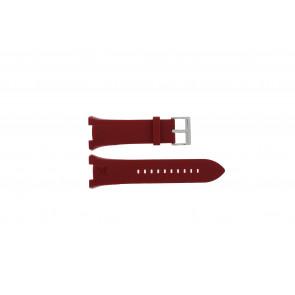 Klockarmband Armani AX1040 Silikon Röd 14mm