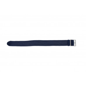 Perlon rem 20mm ljusblå