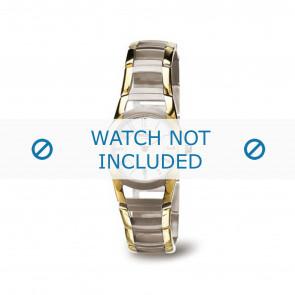 Boccia klockarmband 3140-02 Titan Guld (Doublé) 22mm