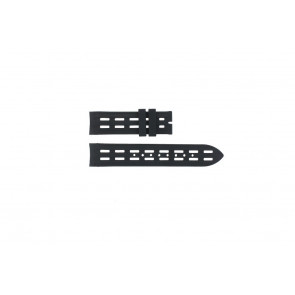 Breil klockarmband BW0400 Gummi Svart 22mm