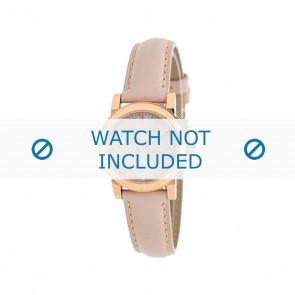 Burberry klockarmband BU9210 Läder Rosa 14mm + default sömmar