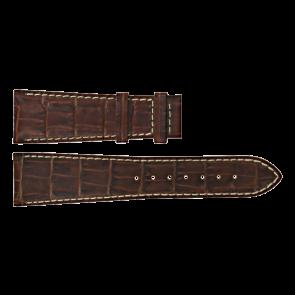 Certina klockarmband C610011091 Läder Brun 23mm + sömmar vitt