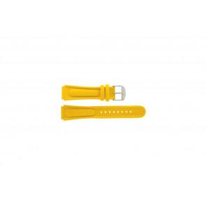 Klockarmband Camel 0980-0989 / 0990-0999 Läder Gul 18mm