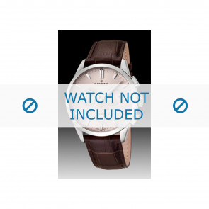 Candino klockarmband C4517-1 Läder Brun + sömmar brun
