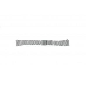 Casio klockarmband A158WEA-1EF Stål Silver 18mm