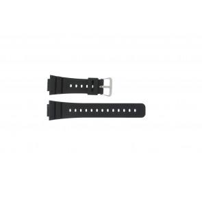 Casio klockarmband DW-5000SL-1 / 10512401 / 5600E / 5600E-1 32 / G-5600 / G-5700 Silikon Svart 16mm