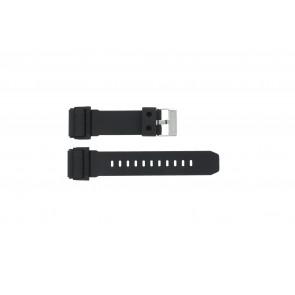 Klockarmband GD-400-1W / 10475776 Silikon Svart 26mm