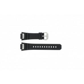 Klockarmband GS-1000J-1A / 10212982 / 10332054 Silikon Svart 16mm